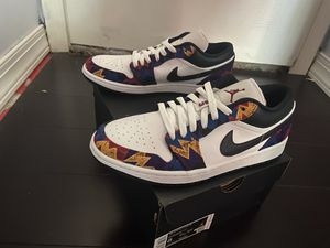 Jordan 1 Low Nothing But Net - Size 8 for Sale in LIBERTY TNSP, OH