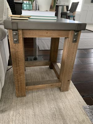 Restoration Hardware end tables for Sale in Pittsburgh, PA