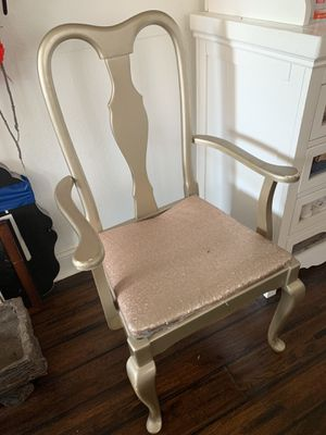 Free chair (champagne/rose gold) FREE for Sale in Corona, CA