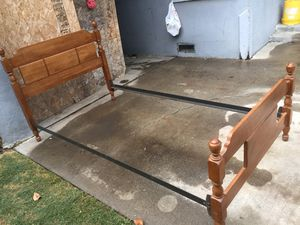 Twin bed frame in good condition. for Sale in Fresno, CA