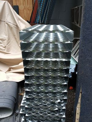 Very heavy duty galvanized stair or walkway tread on steps for Sale in Puyallup, WA