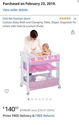 Baby Bath and Changing Table for Sale in Kissimmee, FL