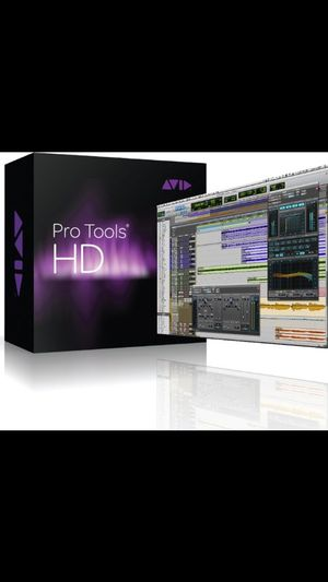 Pro tools 10 hd for Sale in Portsmouth, VA
