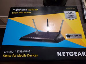 NETGEAR R6700 Nighthawk AC1750 Dual Band Smart WiFi Router for Sale in Shorewood, IL