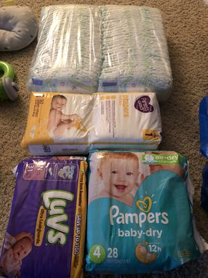 Free baby diapers for Sale in Rancho Cucamonga, CA