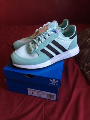Womens Mint Blue Adidas Marathon Tech Shoes for Sale in San Diego, CA