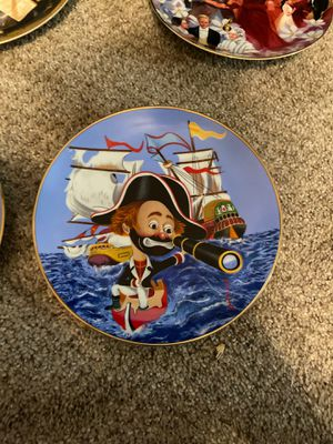Captain freddie plate for Sale in Riverview, FL