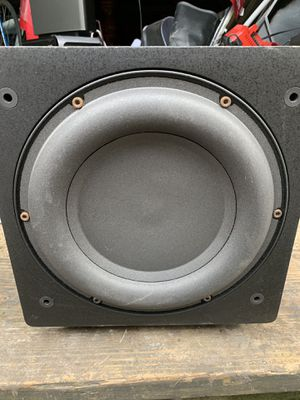 REL Acoustic Q201E Powered Subwoofer Speaker for Sale in Garland, TX