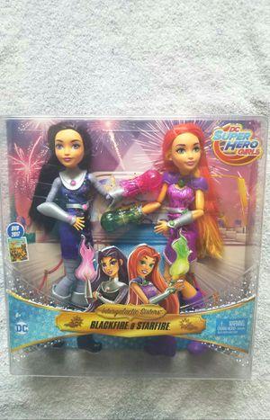 DC SUPER HERO GIRLS INTERGALACTIC SISTERS BARBIE SIZED DOLL SET for Sale in Las Vegas, NV