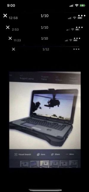 "Laptop HP Toughbook i7 2.8GHZ 32G ram 500GB hard drive 19.7"" screen for Sale in Chula Vista, CA"