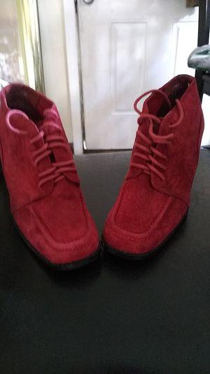 Bijou suede heels for Sale in Pontiac, MI