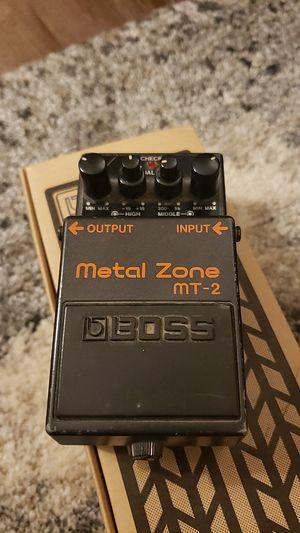 Boss Metal Zone MT-2 for Sale in Seattle, WA