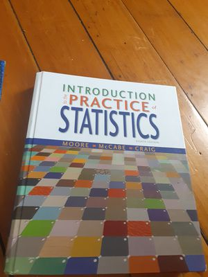 Statistics Textbook for Sale in Woonsocket, RI