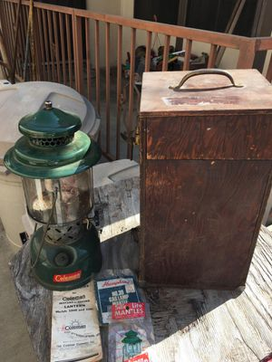 Antique Coleman kerosene lantern for Sale in Huntington Beach, CA