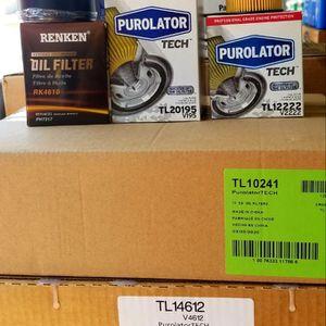 Oil filter/ filtros de aceite for Sale in Chino, CA