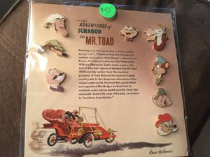 Disney's The Adventures of Ichabod & Mr. Toad Pin Set for Sale in Sumner, WA