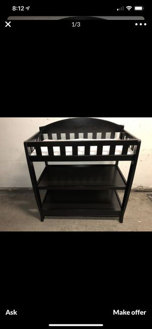 Brown changing table for Sale in San Diego, CA