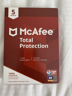 McAfee total protection for Sale in Burlington, NJ