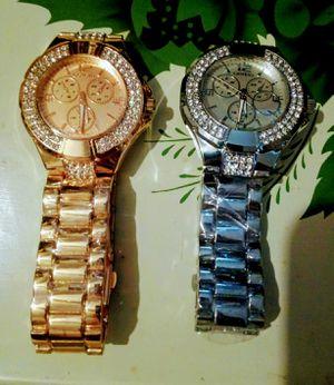 Genve Men's wrist watches excellent condition for Sale in Prospect, VA
