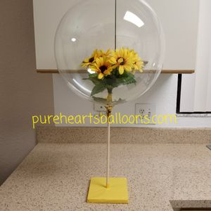 Bubble Balloon with sunflowers for any occasion for Sale in Pompano Beach, FL