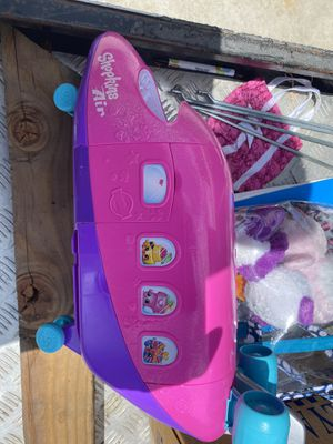 Shopkins Airplane and over 50 Shopkin pcs for Sale in Westminster, CA