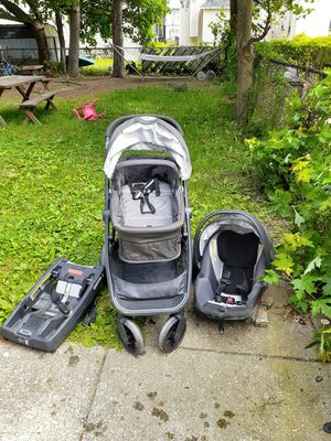 GB brand Car seat, base, stroller for Sale in Buffalo, NY