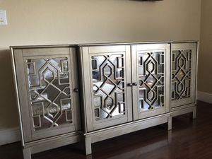 Mirror console for Sale in West Palm Beach, FL