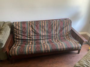 Futon sofa/bed $50 OBO for Sale in Phillips Ranch, CA