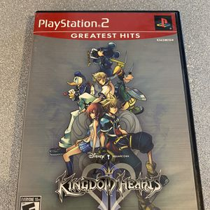 Complete PlayStation 2 Ps2 Kingdom Of Hearts II Greatest Hits Red Label Game for Sale in Litchfield Park, AZ