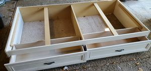Twin bed frame with drawers for Sale in Hamburg, NY