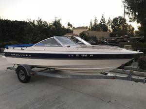 1995 bayliner Capri boat 1950 4cyl mercruiser open bow for Sale in Redlands, CA