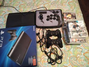 PlayStation 3 with 13 games for Sale in Fort Lauderdale, FL