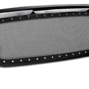 For 2002-2005 Dodge Ram Rivet Stud Steel Mesh Front Bumper Grille Glossy Black for Sale in Indianapolis, IN