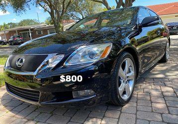 Luxury Sedan!🍂Beautiful Sunroof 2O10 Lexus GS Selling-$800 for Sale in Detroit,  MI