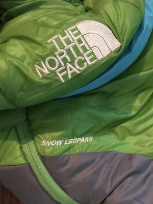 North face snow Leopard mummy sleeping bag for Sale in Austin, TX