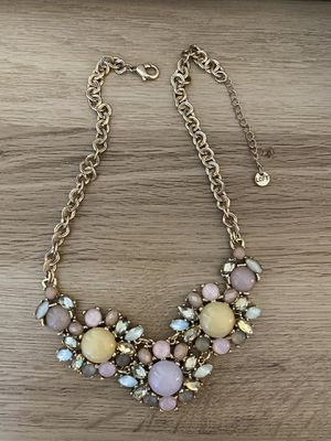 LOFT Crystal Statement Necklace for Sale in Lisle, IL