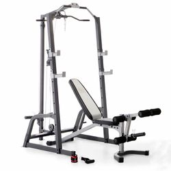 Home Gym, Squat Rack, Bench Press, Lat Pull Down for Sale in Beaverton,  OR