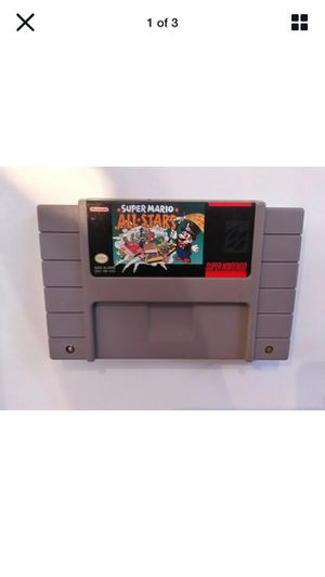 Super Mario All-Stars (Super Nintendo Entertainment System, 1993) SNES for Sale in Lancaster, CA