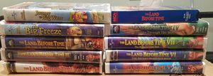 10 Land Before Time VHS Movies for Sale in Ontario, CA