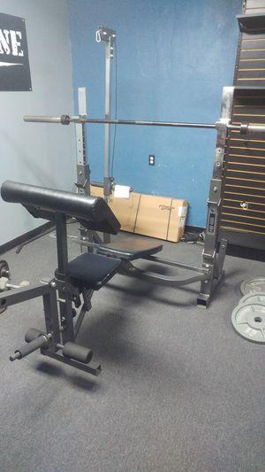 All in one gym bench press for Sale in San Bernardino, CA
