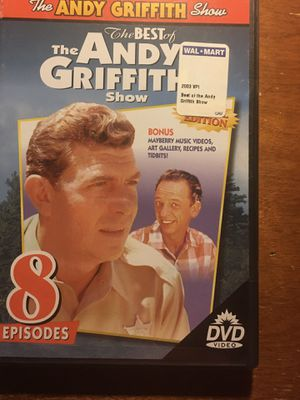 The Best of the Andy Griffith Show (DVD, 8 episodes) - NEW18 for Sale in Harrodsburg, KY