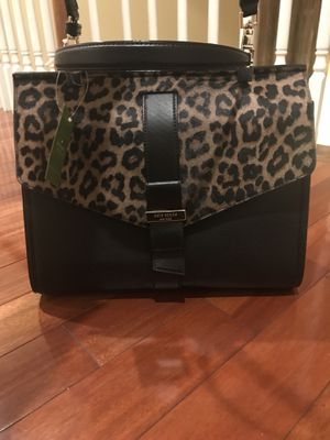 Kate Spade New York ROSALINE PARCHMENT DRIVE LEOPARD SATCHEL for Sale in Rockville, MD