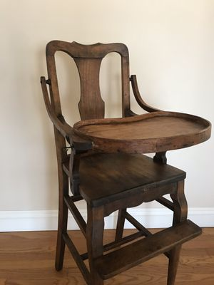 Antique Solid Wood High Chair for Sale in La Mirada, CA