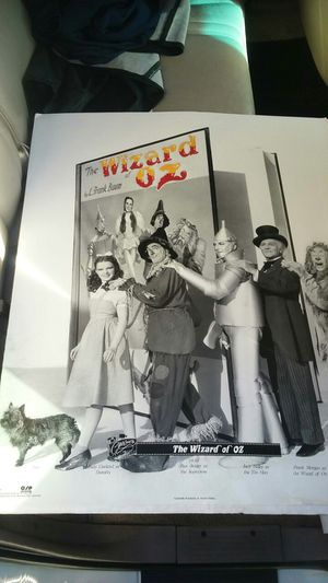 Wizard of Oz poster for Sale in Tacoma, WA