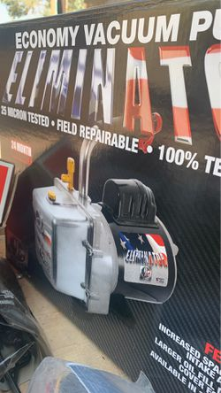 Brand new in box just better vacuum pump. Hvac Freon. Refrigerant. R-22. for Sale in Las Vegas,  NV