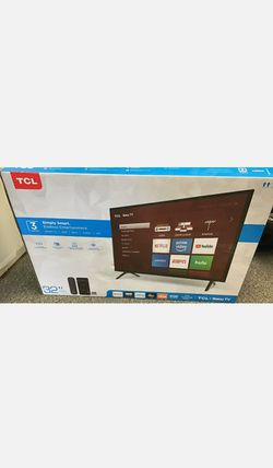 "Brand New TCL 32"" Roku 720p Smart TV for Sale in Seattle,  WA"