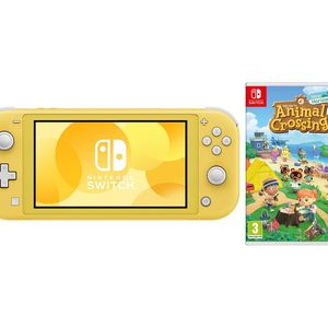 Nintendo Switch lite Yellow With Games for Sale in Whittier, CA
