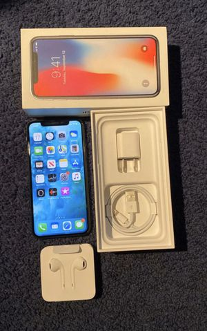 Apple iPhone X 64GB Space Gray - Sprint for Sale in Whittier, CA