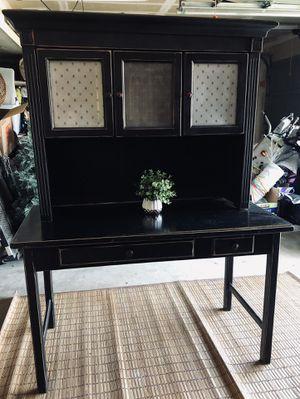 Black desk/Buffet for Sale in Sumner, WA
