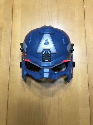Captain America Lighted Mask for Sale in Port St. Lucie, FL